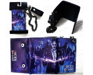 Suicide Squad 'Characters' Chain Wallet